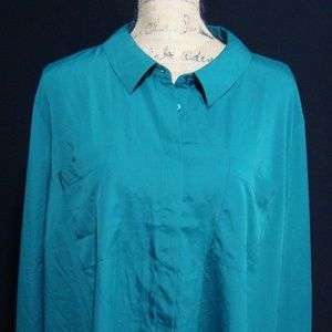 **NWOT Lane Bryant Long Sleeve Front Button